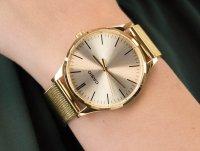 złoty Zegarek Casio VINTAGE Instashape LTP-E140G-9AEF - duże 6