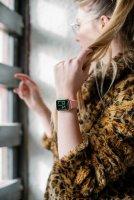 zegarek Garett 5903246286373 Smartwatch Garett Lady Viki złoty damski z krokomierz Damskie