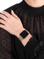 zegarek Garett 5903246287080 Smartwatch Garett Women Eva RT złoty stalowy damski z krokomierz Damskie