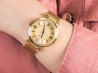złoty Zegarek Guess Bransoleta W0638L2 - duże 6
