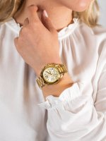złoty Zegarek Michael Kors Mini Bradshaw MK5798 - duże 5