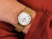 złoty Zegarek Rubicon Bransoleta RNBE28GISX03BX - duże 6