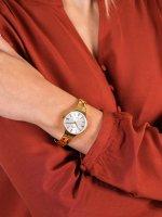 złoty Zegarek Rubicon Bransoleta RNBE31GISX03BX - duże 5