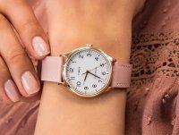złoty Zegarek Timex Easy Reader TW2U22000 - duże 6