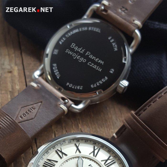 Grawerowanie zegarka.