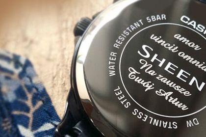 grawerowanie na zegarkach