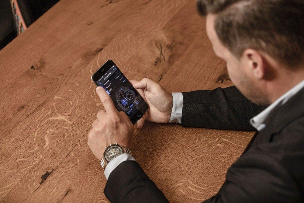 Funkcja znajdź telefon pozwala na znalezienie telefonu poprzez zegarek.