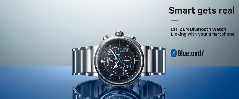 Nowoczesny, męski zegarek Citizen BZ1006-82E Smartwatch z funkcją Citizen Bluetooth Eco-Drive