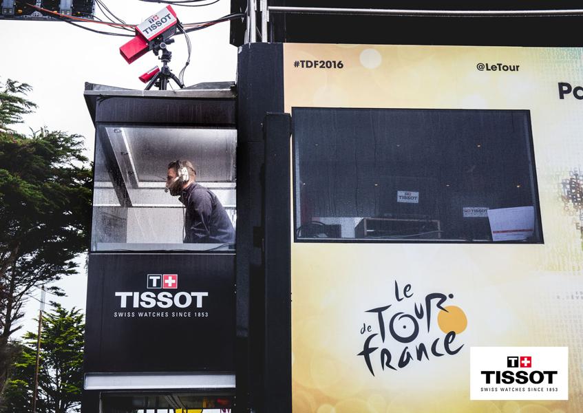 TISSOT PRC 200 TOUR DE FRANCE 2016 oficjalnym zegarkiem wyścigu