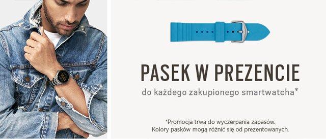 Do każdego zakupionego smartwatcha pasek gratis!