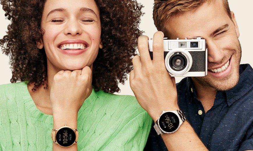 Inteligentne smartwatche marki Fossil.