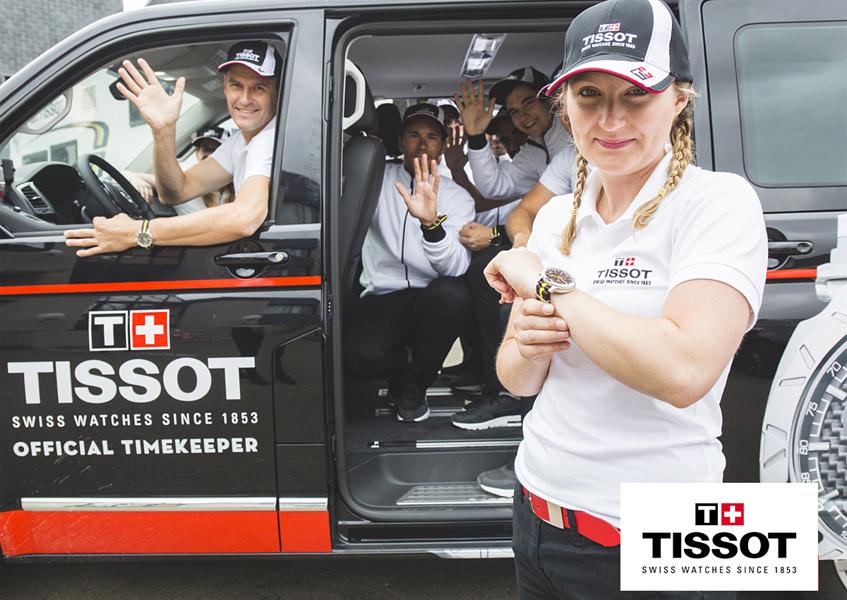 W 2016 roku rolę Oficjalnego Chronometrażysty Tour de France przejęła marka Tissot
