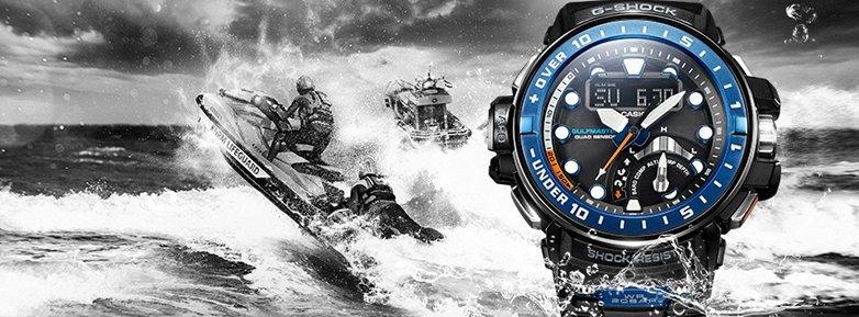 Niezwykle szczelny, męski zegarek Casio G-Shock do nurkowania