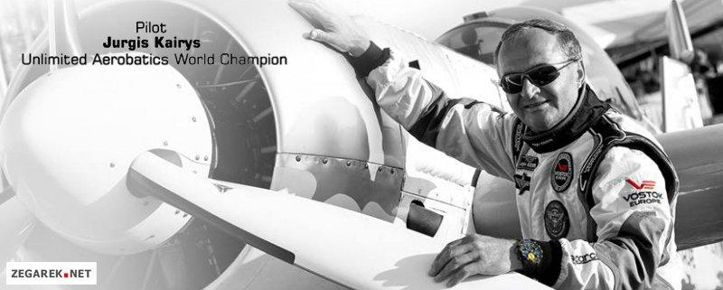 Vostok Europe- pilot- Jurgis Kairys.