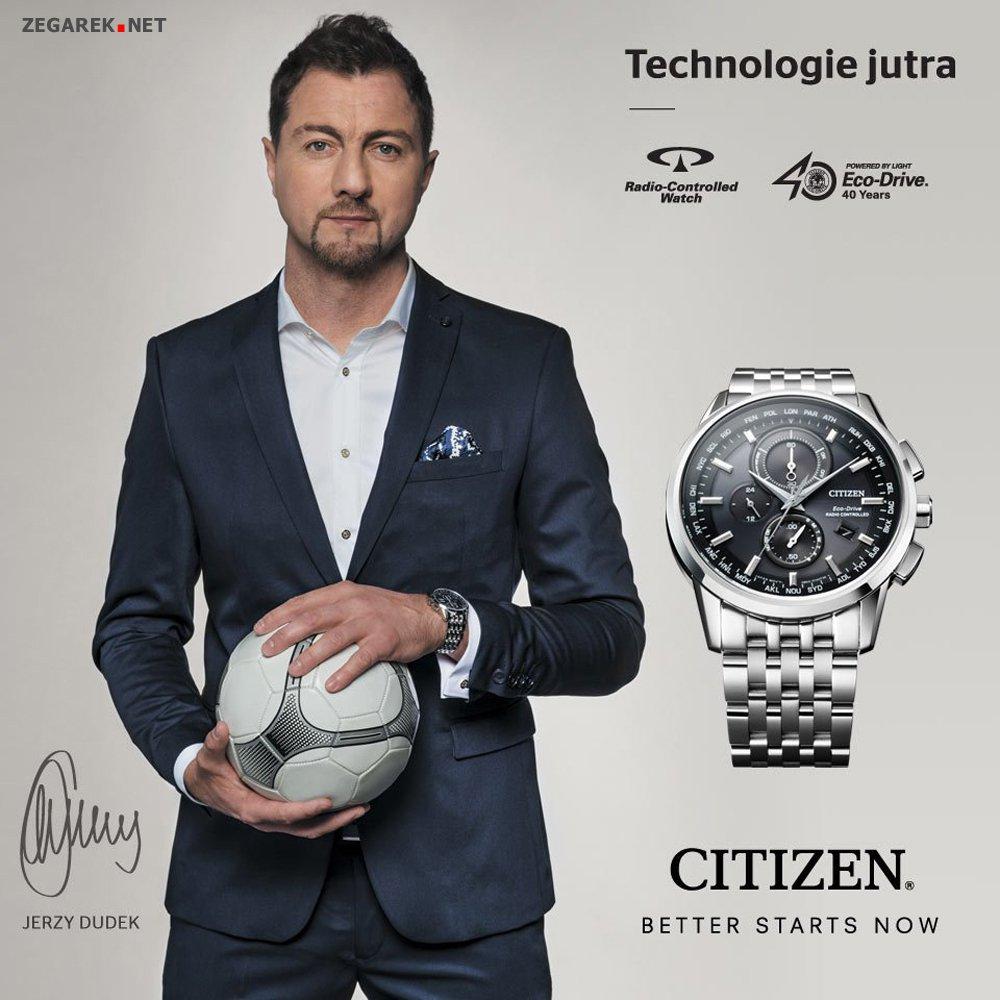 Zegarki Citizen i Jerzy Dudek