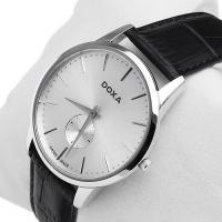 Zegarek męski Doxa slim line 105.10.021.01 - duże 2