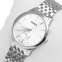 Zegarek męski Doxa slim line 105.10.021.10 - duże 2