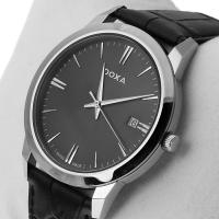 Zegarek męski Doxa slim line 106.10.101.01 - duże 2