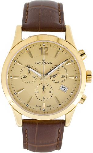 Zegarek męski Grovana pasek 1209.9511 - duże 1