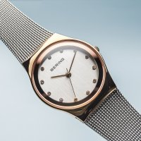 Zegarek damski Bering classic 12927-064 - duże 2