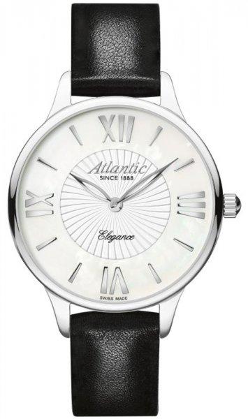 Zegarek damski Atlantic elegance 29038.41.08L - duże 1