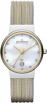 zegarek damski Skagen 355SSGS