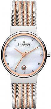 zegarek damski Skagen 355SSRS