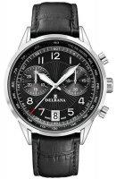Zegarek męski Delbana retro chronograph 41601.672.6.034 - duże 1
