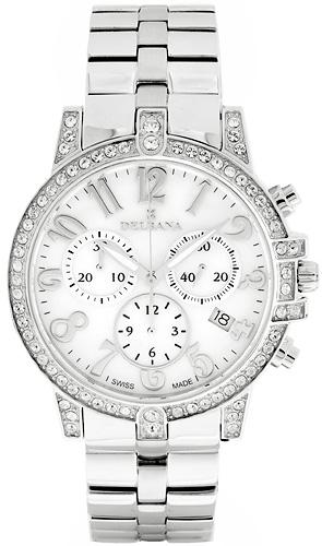 Zegarek damski Delbana florence 41711.559.1.512 - duże 1
