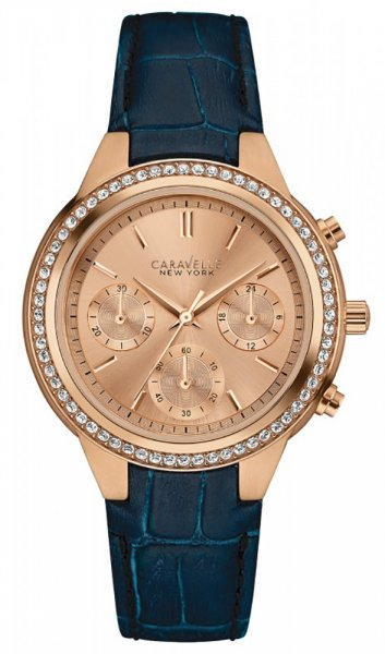 Zegarek Caravelle 44L183 - duże 1