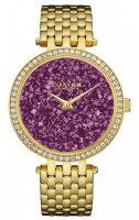 Zegarek damski Caravelle bransoleta 44L212 - duże 1