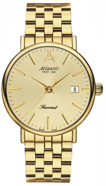 Zegarek męski Atlantic seacrest 50356.45.31 - duże 1