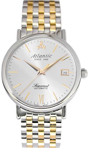 Zegarek męski Atlantic seacrest 50747.43.21 - duże 1