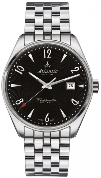 Zegarek męski Atlantic worldmaster 51752.41.65SM - duże 3