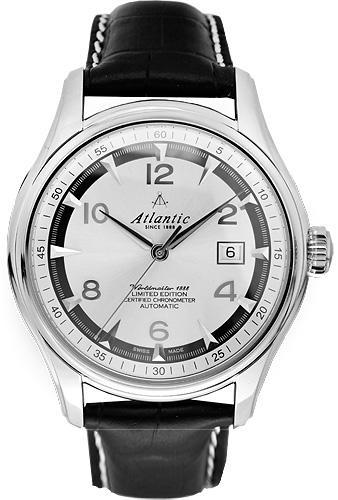 Zegarek męski Atlantic seria limitowana 52750.41.25S - duże 1