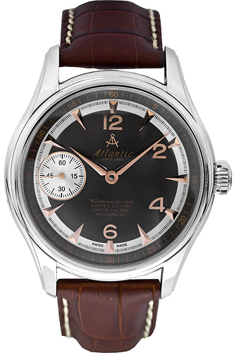 Zegarek męski Atlantic seria limitowana 52950.41.45R - duże 1