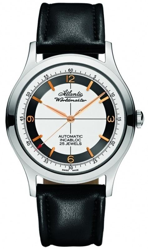 Zegarek męski Atlantic seria limitowana 53753.41.25G - duże 1