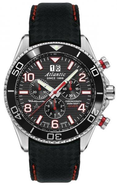 Zegarek Atlantic 55470.47.65RC - duże 1