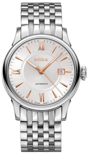 Zegarek męski Doxa vintage 624.10.022R.2.10 - duże 1