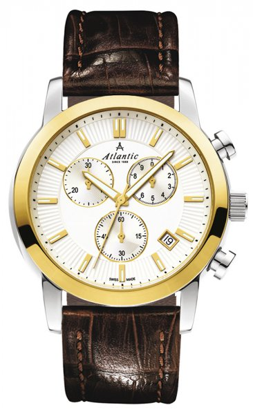 Zegarek Atlantic  62450.43.21G - duże 1