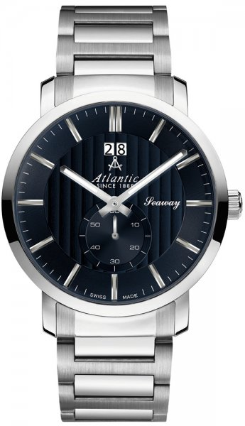 Zegarek męski Atlantic seaway 63365.41.51 - duże 1