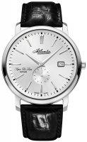 Zegarek męski Atlantic super de luxe 64352.41.21 - duże 1