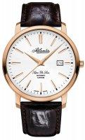 Zegarek męski Atlantic super de luxe 64751.44.21 - duże 1