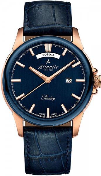 Zegarek Atlantic 69550.44.51RP - duże 1