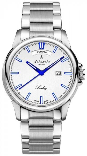 Zegarek Atlantic 69555.41.21BP - duże 1