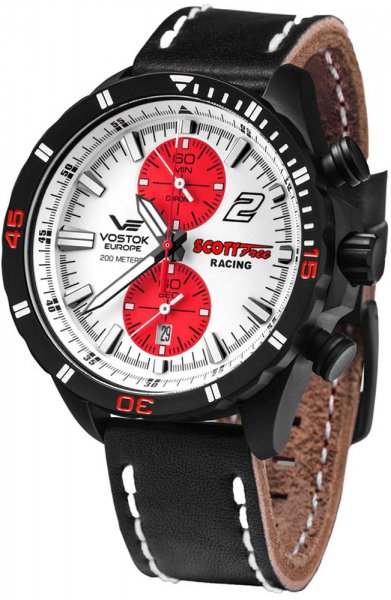 Vostok Europe 6S11-320C374 Almaz Almaz Chrono Scott Free Racing Edition