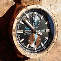 Zegarek męski Vostok Europe almaz 6S11-320O266 - duże 3