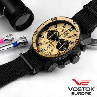 Zegarek męski Vostok Europe ekranoplan 6S21-546C512 - duże 3