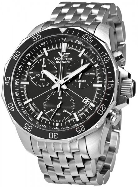Vostok Europe 6S30-2255177B N1 Rocket Rocket N-1 Chrono