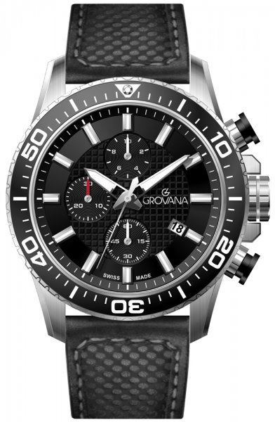 Zegarek Grovana - męski  - duże 3